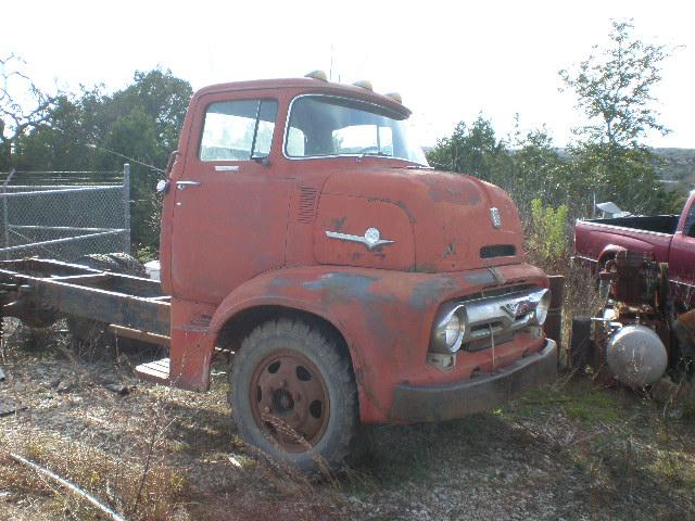 Ford F-600 Cabover - 1956 Ford F-600 Cabover - 1956 Ford
