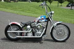 more details - other acm red white & blue bobber!