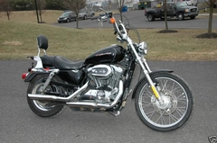 more details - harley-davidson sportster custom