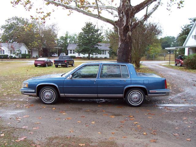 Cadillac DeVille 4DR - 1988 Cadillac DeVille 4DR - 1988 Cadillac 4DR